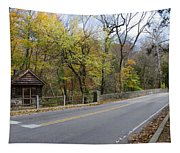 Bells Mill Road In Autumn Tapestry