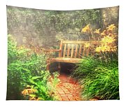 Bench - Privacy  Tapestry