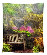 Bench - Tranquility II Tapestry