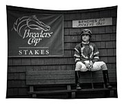Benches For Jockeys Only Tapestry