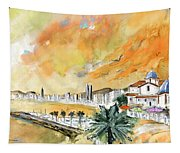 Benidorm Old Town Tapestry