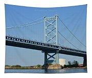 Benjamin Franklin Bridge Tapestry