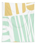Bento 1- Abstract Shape Painting Tapestry