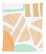 Bento 3- Abstract Shapes Art Tapestry