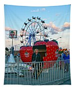Berry Go Round Tapestry