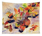 Berry Harvest Still Life Tapestry