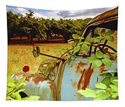 Berry Old Truck 2 Tapestry