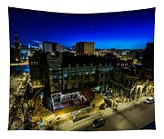 Best Place Blue Hour Tapestry