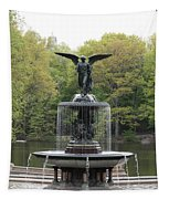 Bethesda Fountain Central Park Nyc Tapestry