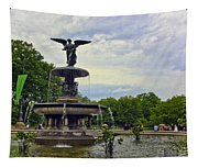 Bethesda Fountain II Tapestry