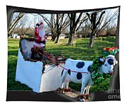 Betsy The Red Nose Moo-cow Tapestry