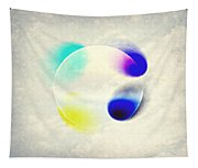 Between Clouds Digital Art Tapestry