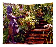 Between The Steps Tapestry
