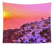 Bewitched Sunset Tapestry