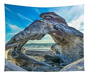 Beyond The Beach Tapestry