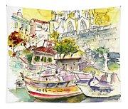 Biarritz 11 Tapestry