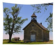 Bichet School In Marion County In Kansas Tapestry