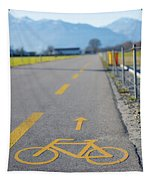 Bicycle Symbol Tapestry