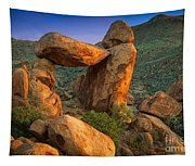 Big Bend Window Rock Tapestry