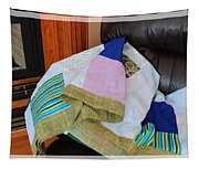 Big Blocks Patchwork Quilt Tapestry