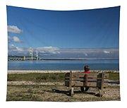 Big Mackinac Bridge 69 Tapestry