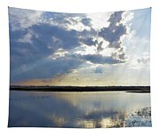 Big Marsh Sunset Tapestry