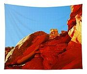 Big Orange Rock Tapestry