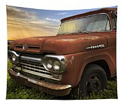Big Red Ford Tapestry