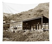 Big Sur Hot Springs Now The Esalen Institute California Circa 1961 Tapestry