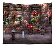 Bike - Ny - Chelsea - The Delivery Bike Tapestry