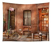 Bike - Ny - Urban - Two Complete Bikes Tapestry
