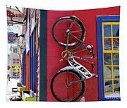 Bike Shop Tapestry