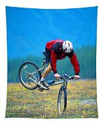 Bike Stunt Tapestry