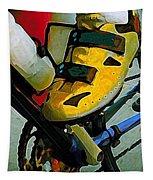 Biker Boy Foot Tapestry