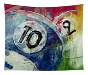 Billiards 10 And 9 Tapestry