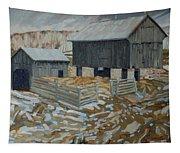 Bill's Barns Tapestry