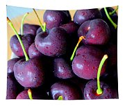 Bing Cherries Tapestry