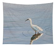 Bird In A Pond Tapestry