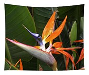 Bird Of Paradise Flowers Tapestry