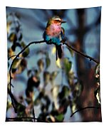 Bird On A Limb Tapestry