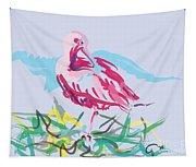 Bird Red Ibis Tapestry