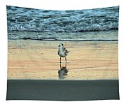 Bird Reflection Tapestry