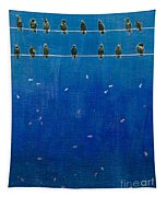 Birds And Fish Tapestry