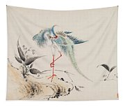 Birds And Flowers Tapestry