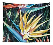 Birds Of Paradise  2   Sold Tapestry