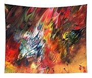 Birds On Fire Tapestry