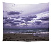 Birds On The Beach Tapestry