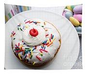 Birthday Party Donut Tapestry