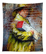 Biscuit Boy Tapestry