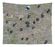 Bison Herd Tapestry